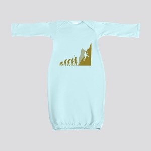Mountain Climber Baby Gown