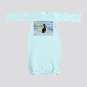 Dobie Angel in Clouds Baby Gown