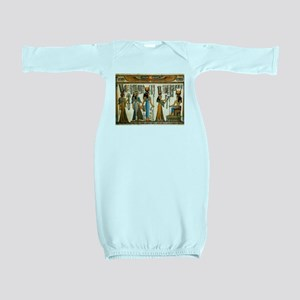 Ancient Egyptian Wall Tapestry Baby Gown