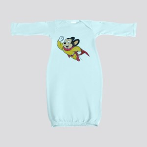 Vintage Mighty Mouse Baby Gown