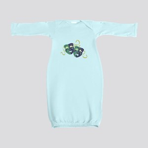 Happy Sad Drama Acting Theatre Masks Baby Gown