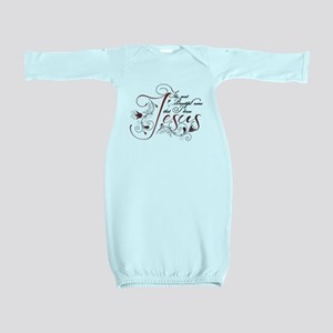 Beautiful name of Jesus Baby Gown