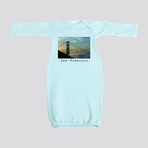 San Francisco Airbrushed Baby Gown Baby Gown