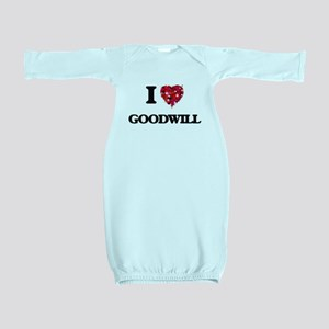 I love Goodwill Baby Gown