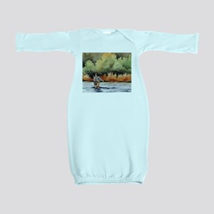 Fishing Baby Gown