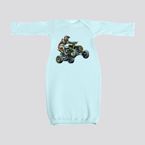 ATV Quad Racer Freestyle Baby Gown