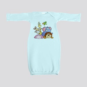 Jungle Animals Baby Gown