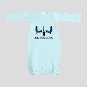 Life Behind Bars Baby Gown