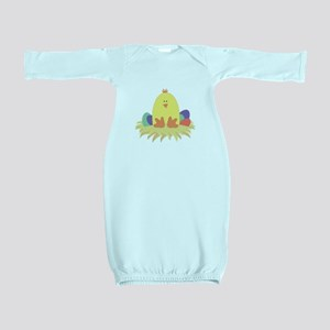 Easter Peep on Nest Baby Gown