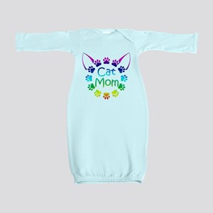 """Cat Mom"" Baby Gown"