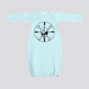 Skull_in_Scope2sm Baby Gown