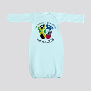 Jamaican Haitian Baby Baby Gown