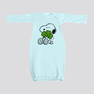 Snoopy Hugging Clover Baby Gown
