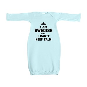 e497b62f5 Flag Of Sweden Baby Gowns - CafePress