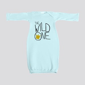 wild one Baby Gown