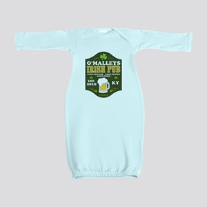 Irish Pub Personalized Baby Gown