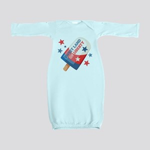Ice Cream Pop 4th Baby Gown
