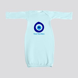 Evil Eye Magic Personalized Baby Gown