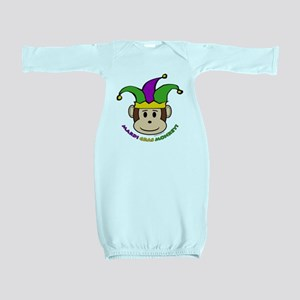 mardigras_jester_3pt_hat_v6 Baby Gown