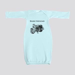 Share the road Baby Gown