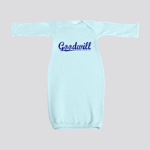 Goodwill, Blue, Aged Baby Gown