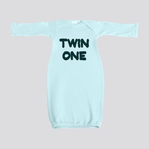 TWIN ONE TEAL Baby Gown