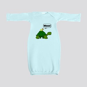 Snail Turtle Ride Baby Gown