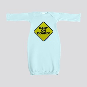 Baby On Board Baby Gown