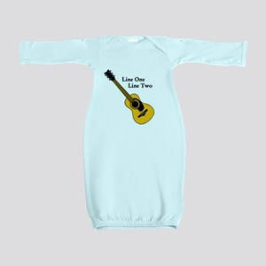 Custom Guitar Design Baby Gown