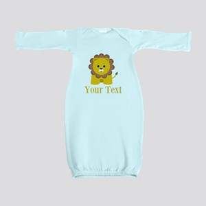 Personalizable Little Lion Baby Gown