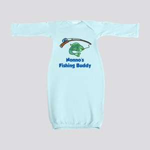 Nonnos Fishing Buddy Baby Gown