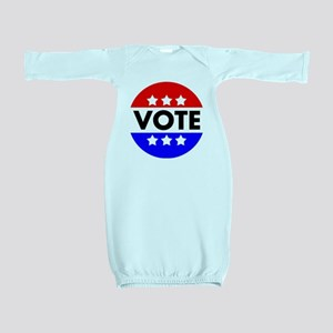 Vote Baby Gown