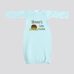 Nonno's Little Meatball Baby Gown