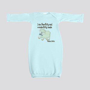 Wonderfully Made Sheep Baby Gown