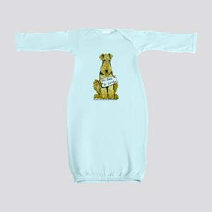 Airedale Lakeland Welsh Terrier Baby Gown