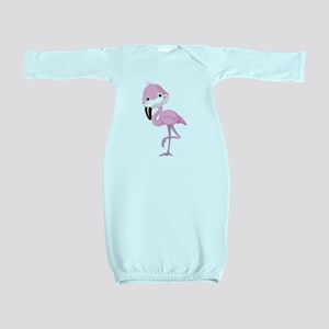 Cute Baby Flamingo Baby Gown