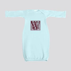 Monogram-Wallace Baby Gown