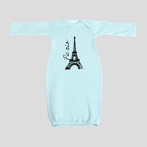 Paris Eifel Baby Gown