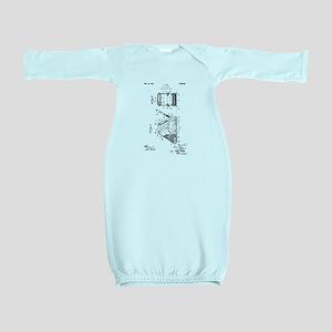 1927 L. Durr Floor Sander Baby Gown