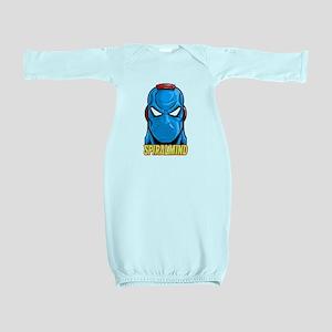 SPIRALMIND - HEAD Baby Gown