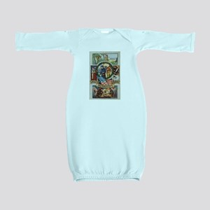 Loyalty Patriotism Service Baby Gown