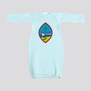 Guam Coat Of Arms Baby Gown
