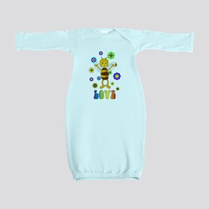 Love Bee Baby Gown