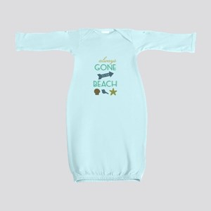 To The Beach Baby Gown