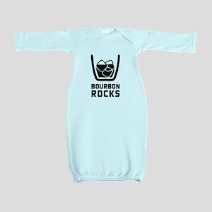 Bourbon Rocks Baby Gown