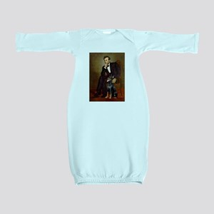 Lincoln's Doberman Baby Gown