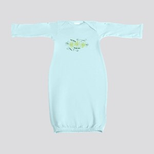 Daffodils Baby Gown