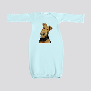 Airedale Terrier Baby Gown