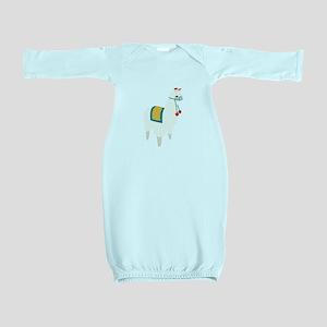 Alpaca Animal Baby Gown