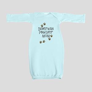 doberman pinscher mom Baby Gown